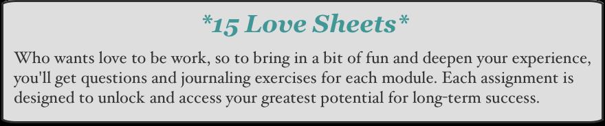 Love Sheets