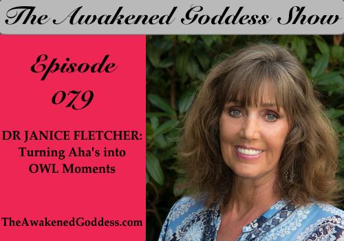 Turning Aha's info OWL Moments – Dr. Janice Fletcher